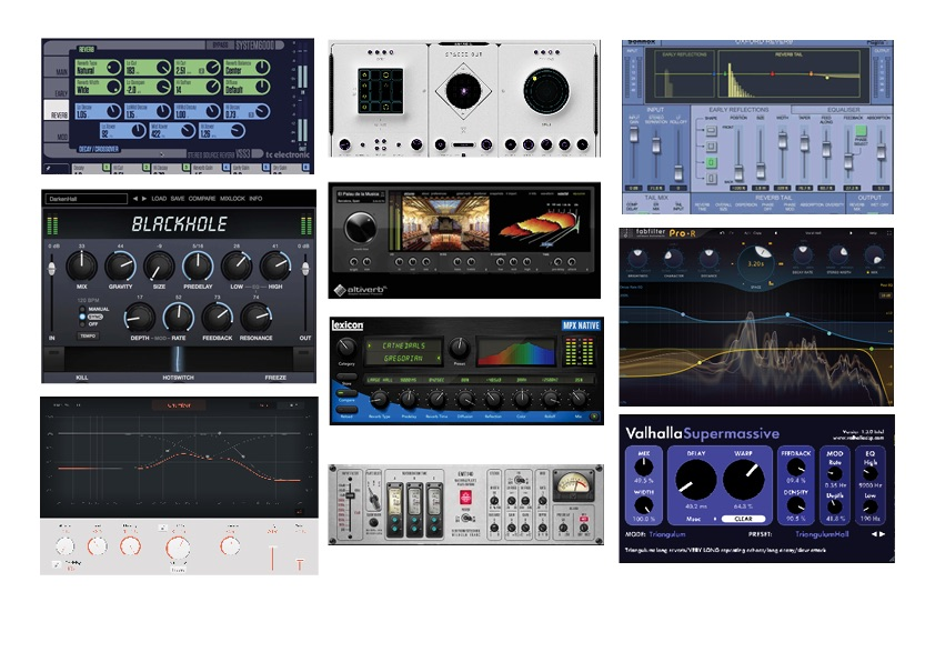 10 Great Reverbs for Soundtrack Production